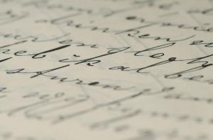 Handschrift birgt analoge Verschlüsselungsmöglichkeiten